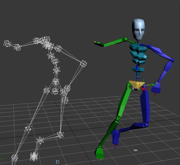 Free 3D Rigged Model For 3Ds Max Software